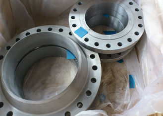 China Long Weld Neck Stainless Steel Pipe Flange Plate Class 150LBS ~ 3000LBS Rate supplier