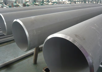 China Transporting 316 Stainless Steel Tubing , DN80 SCH40 Large Diameter Stainless Steel Tube supplier