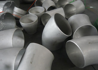 China Industrial 304 Stainless Steel Weld Fittings Anti - Corrosion For Transporting Fluids supplier