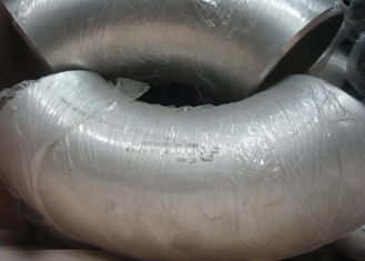 China Gas And Oil Pipe Stainless Steel Elbow Fitting , Butt - Weld Steel Tubing Elbows supplier