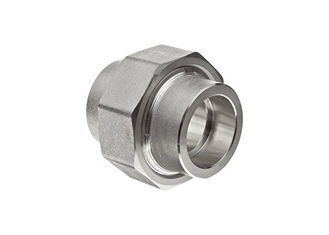 China Socketwelded Union Pipe Stainless Steel Tube Fittings , Threaded Socket Weld Pipe Fittings supplier