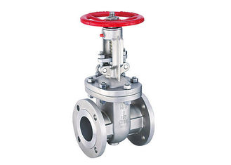 China Manual Stainless Steel Flanged Ball Valves , Shut - Off Stainless Steel Gate Valve supplier