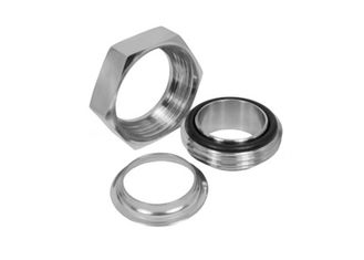 China 2 Inch Ss Sanitary Fittings RTJ Unions , T304 T316L Stainless Steel Clamp Fittings supplier