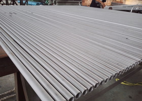 ASTM A312  304 Seamless Stainless Steel Round Tube High Tensile Strength Cracking Resistance