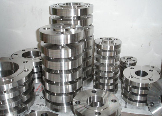 Pipeline Stainless Steel Flanged Fittings , DIN2566 1.4306 Stainless Steel Din Flanges