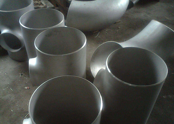 China Corrosion Resistant Welded Steel Pipe Fittings , 2 Inch Schedule 40s A403 Stainless Steel Equal Tee factory