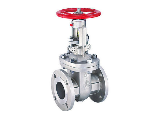 Manual Stainless Steel Flanged Ball Valves , Shut - Off Stainless Steel Gate Valve