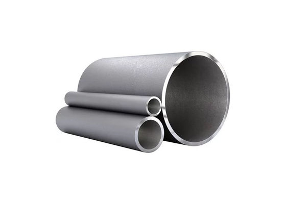 ASTM A312 Hollow Stainless Steel Tube , Custom Mild Steel Hollow Metal Tube Bar
